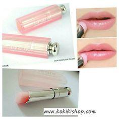 Dior Addict Lip Glow Color Awakening Lip Balm #No. 001 Pink 3.5 g. ลิปบาล์มบำรุงริมฝีปากเปลี่ยนสีได้