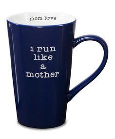 Look at this #zulilyfind! 'I Run Like' Mug #zulilyfinds