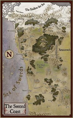 coast Dream Fantasy, Fantasy Forest, Fantasy Rpg, Fantasy World, Dungeons And Dragons Board, Dungeons And Dragons Homebrew, Fantasy Map Making, Dnd World Map, Dungeon Master Screen