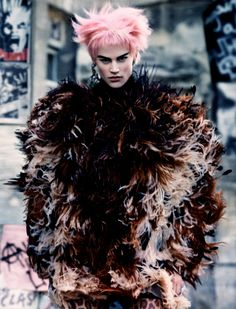 Saskia De Brauw by Craig McDean for W Magazine October 2013