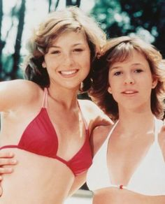 Tatum and Kristy. #actresses #1970s