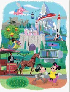 1955-1964 Disneyland