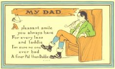 Shop Dad Chair Pipe Vintage Father's Day Card created by kinhinputainwelte. Funny Fathers Day Poems, Fathers Day Post, Fathers Day Ideas For Husband, Fathers Day Gifts, Diy Father's Day Gifts, Father's Day Diy, Father's Day Greeting Cards, Custom Greeting Cards, Father's Day 2016