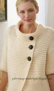 Resultado de imagen de chaquetas tejidas de mujer