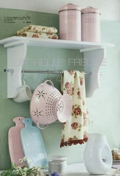 Love the pastel hot water bottles.