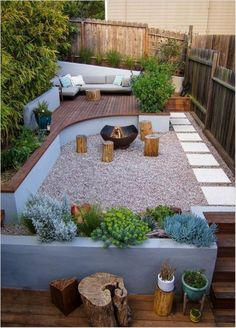 Awesome Small Garden Design Budget Backyard Ideas small gardens 25 Stunning Backyard Ideas a Bud You Will Love Landscape Design Small, Small Garden Design, Small Space Gardening, Small Gardens, Deck Design, Landscape Borders, Landscape Timbers, Creative Landscape, Backyard Seating