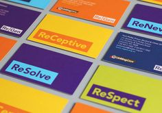 ReGen, formerly known as Uniting Care Moreland Hall, is a not-for-profit drug and alcohol treatment and education agency established in 1970 for the Victoria and Tasmanian regions of Australia. Following the recent name change Studio Brave developed a new visual identity that would better reflect the ReGen's evidence based practices and the positive, practical outcomes it achieves, through a combination of vibrant colour, a simple linguistic device and a weighty sans serif typeface.