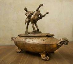 Obra. Bronze. By Javier Marin..sculptor