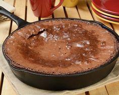 Fondant au chocolat à la poêle (facile, rapide) - Une recette CuisineAZ