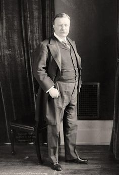 Roosevelt, Theodore. Standing
