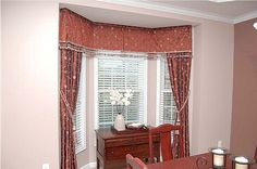 Furniture: Superb Bay Window Curtains Images Also Bay Window Curtain Track Homebase from 5 Tips In Decorating Your Home With Bay Window Curtains
