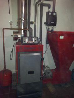 #Caldera de #Biomasa o hueso de aceituna.