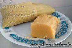 Receita de Pamonha Doce com Coco