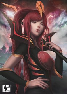 Elementalist Lux Magma Evolution (League of Legends)