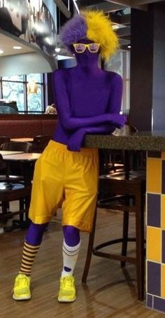 What? Too much? #LSU