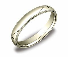 14k White Gold 8mm Comfort Fit Men's Wedding Band with Bevel Edge and Brushed Finish Center   Blog   wedding bands - Yahoo! Blog