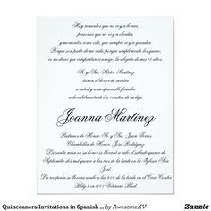 Spanish quinceanera invitation dinner wording car pictures spanish quinceanera invitations in spanish 425 x 55 stopboris Choice Image
