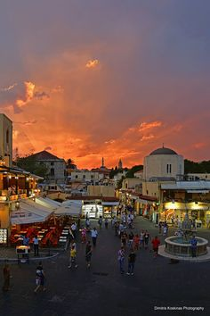 Hippocrates Square old town Rhodes Greece. ImagineYou Traveling is going here in 2014.  Join me for R, crystal blue water and beautiful sunsets.