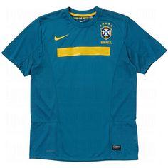 #Nike #Soccer #Mens #Dri-FIT Brasil Replica Home Jersey