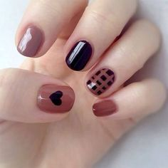 In seek out some nail designs and some ideas for your nails? Listed here is our set of must-try coffin acrylic nails for modern women. Heart Nail Designs, Nail Art Designs, Nails Design, Nails Polish, Gel Nails, Shellac, Acrylic Nails, Stylish Nails, Trendy Nails