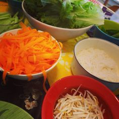 Spring Roll Party!   We offer parties for all size parties! Send inquiries to jeff@yumdumtruck.com