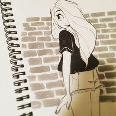 Art of Miranda Yeo — Another batch of inktober girls!