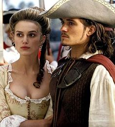 Will and Elisabeth (Pirates of the Caribbean)