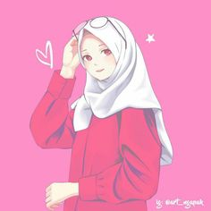 Little girl sketch Anime Neko, Kawaii Anime, Cartoon Kunst, Cartoon Art, Cartoon Images, Hijab Drawing, Wallpaper Hp, Islamic Cartoon, Hijab Cartoon