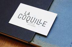 Identité visuelle de la Coquille, 2015. atelier-etcetera.com