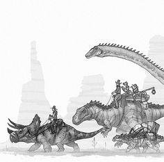 Western Dinos