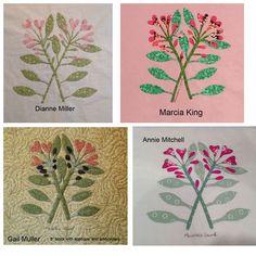 Shenandoah Valley Botanical Album Quilt of 1858