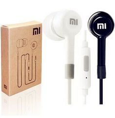 Free Shipping New Stereo 3.5mm Jack Earphone In-Ear Earphone With Remote and Mic for Xiaomi MI2 Hongmi M3 MI2S MI2A Mi1S M1
