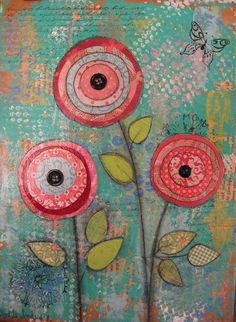 mixed media art projects for kids - Google Search