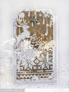 Christmas Inspiration fromYuliya Morozova for Lesia Zgharda   Штампувальня