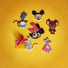 La petite souris de notre enfance .  #miyukibead  #perleusecompulsive  #brickstitch  #jenfiledesperlesetjassume  #perleaddict  #perlemiyuki