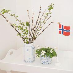 Norgesglasset i porselen med stråmønster av @juliaslycka