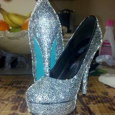 DIY heels that I did