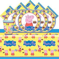 Peppa the Pig Party Pack for 16