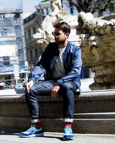 Romano dans Entre midi et deux #look #mode #style #streetstyle #streetwear #sportwear #newbalance #fashion #mensfashion #menswear #blogger
