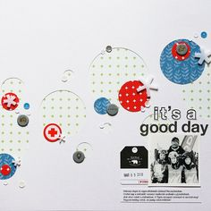 It's a good day by izzie at Studio Calico