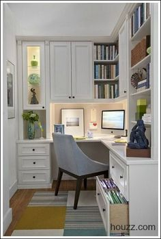 Home Office Decorating Ideas -Create a comfortable working