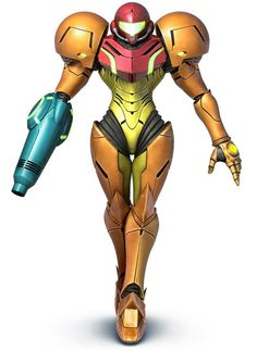 Super Smash Bros. for 3DS and Wii U.     Samus in her suit! Not my favorite character, but she's pretty awesome!