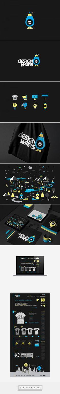 Design Wars Branding by Noeeko   Fivestar Branding – Design and Branding Agency & Inspiration Gallery