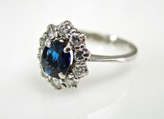 A royalty inspired staff favourite.  #blue #sapphire #royalty