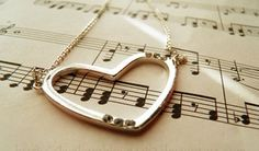 coração na musica