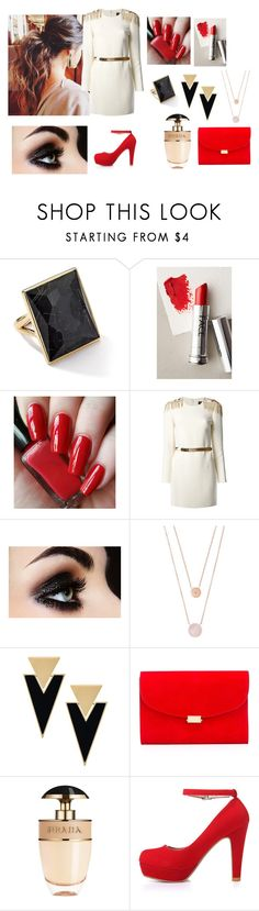 """Untitled #147"" by j4wahir on Polyvore featuring Ippolita, FACE Stockholm, Versace, Michael Kors, Yves Saint Laurent, Mansur Gavriel and Prada"