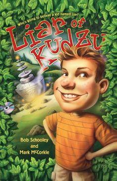 Liar of Kudzu by Bob Schooley http://www.amazon.com/dp/1416914897/ref=cm_sw_r_pi_dp_UqVpwb1JH24DN