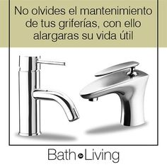 BathForLiving on Instagram: No olvides el mantenimiento de tus #Griferías con ello alargaras...