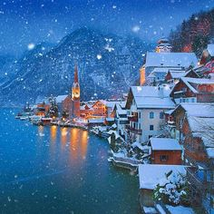Hallstatt, Austria, this place is now on my bucket list.  Wow.