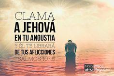 No detengas tu clamor porque Dios responderá y traerá paz a tu vida. #ManaParaElAlma #Oracion #Clamor #Fe #Salmos #Dios